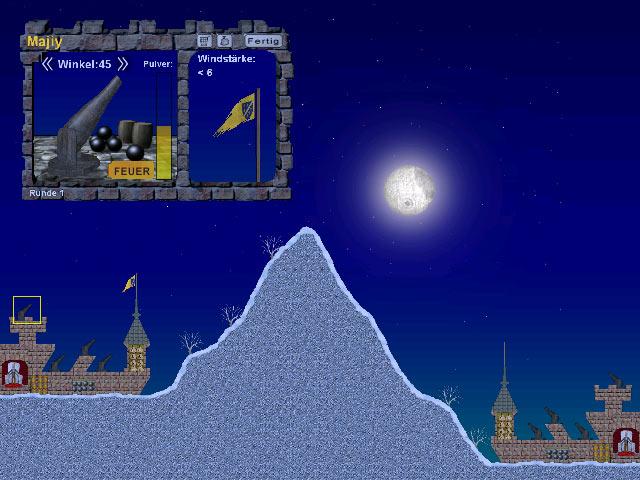 freegamesFreakystuff.de - Kostenlose Spiele: \'Ballerburg\' aus der ...